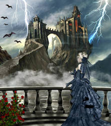 Dracula Castle by Michka2