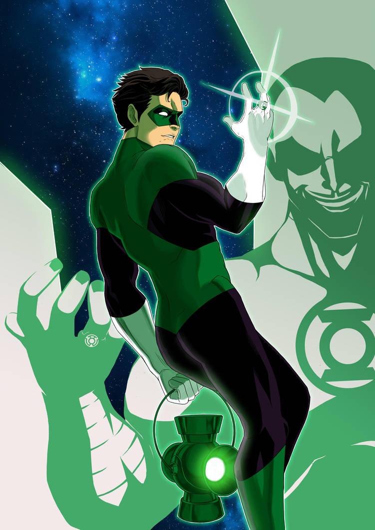 Green Lantern by SeiKyo-Art