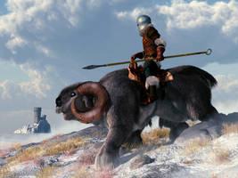 Tundra Knight on Patrol by deskridge