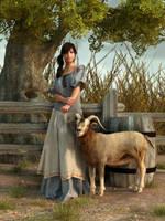 The Farmer's Daughter by deskridge
