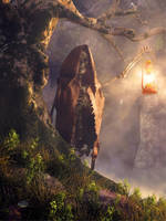 Forest Ghost by deskridge
