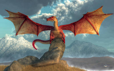 Red Dragon by deskridge