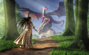 Facing the Red Dragon by deskridge