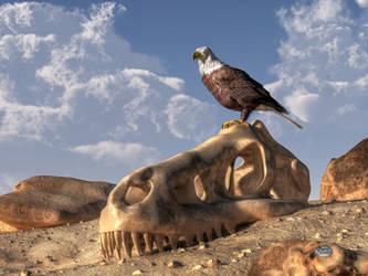 Eagle Rex by deskridge