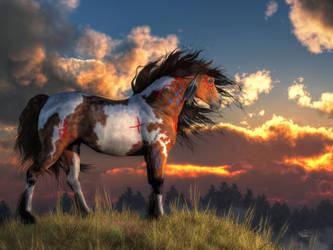 War Horse by deskridge