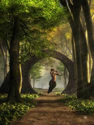 Gate to Pan's Garden by deskridge
