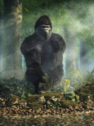 Gorilla by deskridge