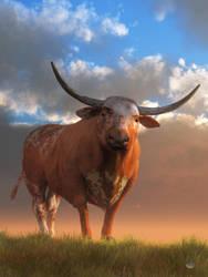 Texas Longhorn by deskridge