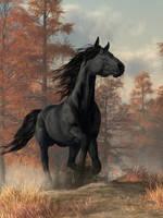 Halloween Horse by deskridge