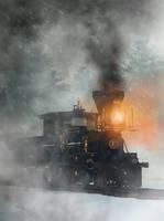 Old West Steam Train by deskridge