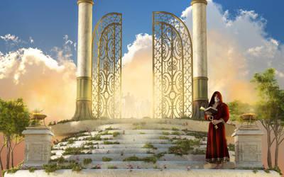 The Gates of Heaven by deskridge