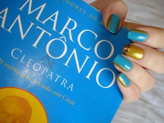 Massie's Marc Antony Nails by doesyourmotherknow