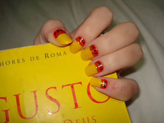 Massie's Augustus Nails by doesyourmotherknow