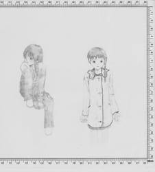 Serial Experiments Lain 001 by doesyourmotherknow