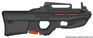 Imperial Solar Federation LAR-01 Laser rifle by MisterArtMaster101