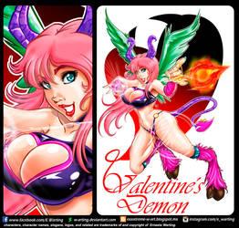 Valentines demon by W-arting