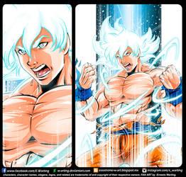 Son Goku UI by E Warting by W-arting