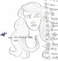 2013-04-26 Hair Girl by MaRina731