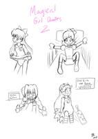 Magical Month Doodles Part 2 by TamaeFTT