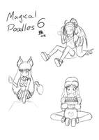 Magical Month Doodles Part 6 by TamaeFTT