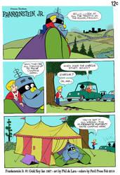 Frankenstein Jr - Circus Tent by PerilPress