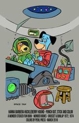 Huckleberry Hound - Space Trip (Wonder Books) by PerilPress