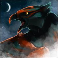 Old Art - Griffin Icon by AnarkistiNiili