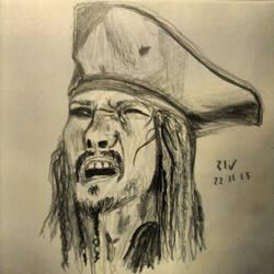 Jack Sparrow by Nanohirn
