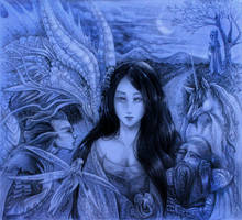The Fairest Maiden. by Zaellrin
