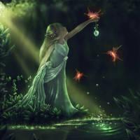 Elvin Forest Princess. by Zaellrin