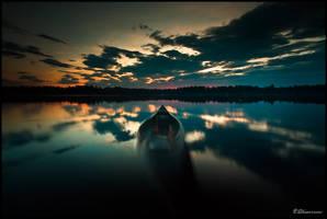 Narrow Escape by thinkingupwards