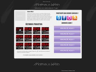 Layout Matheus Web V1 by MatheusFilho