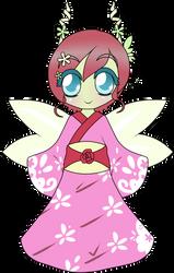 Bottle Fairy Blossom by Chibitsuna
