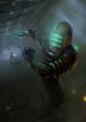Isaac, Dead Space by Svetlio3d