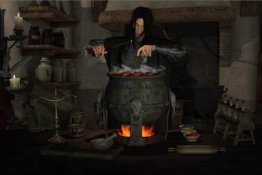 Severus Snape: Potions Master by lemonade8