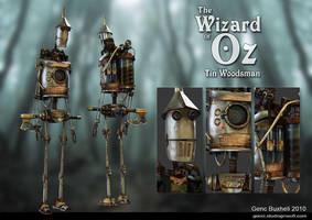 Tin Woodsman by genci