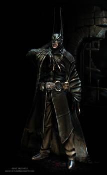 Vampire Batman pose 2 by genci