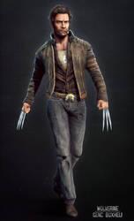 Wolverine (Hugh Jackman) by genci