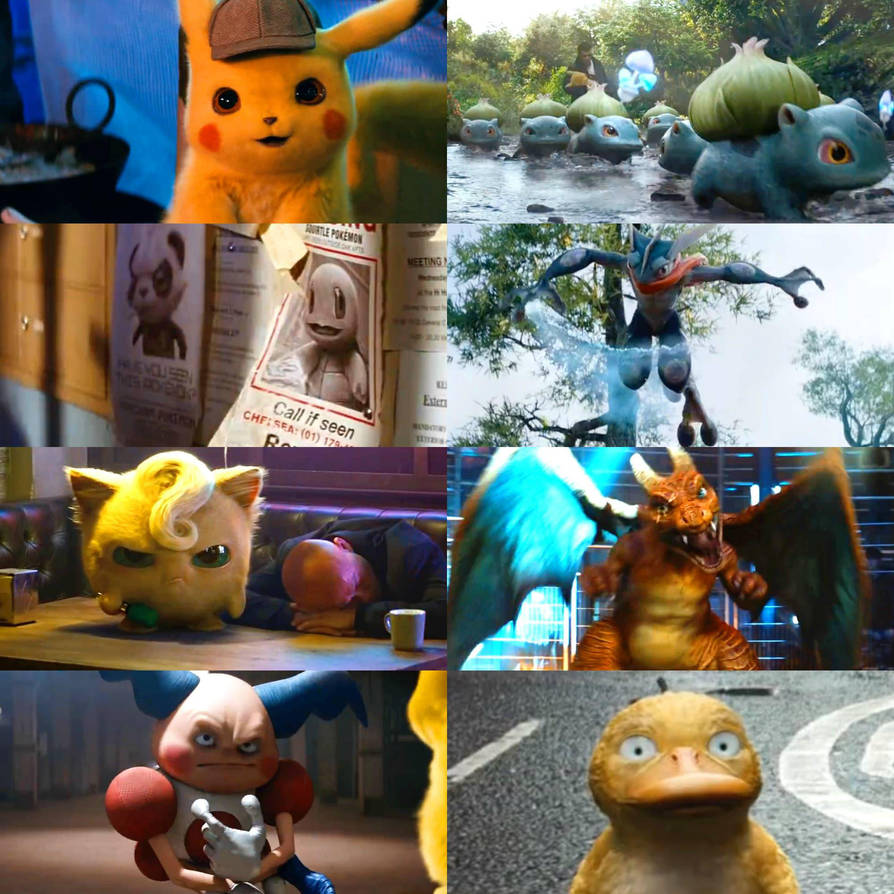 Image Result For Pokemon Detective Pikachu