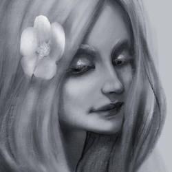 sketch in procreate by Ketka