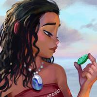 Moana - study by Ketka