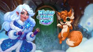 Winter Fairy my little fox by Ketka