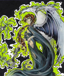Duo Shinigami Angel by discarded