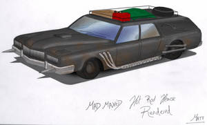 Rendereded Hearse. by mad--matt