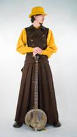 Long neck Banjo by Lastwear