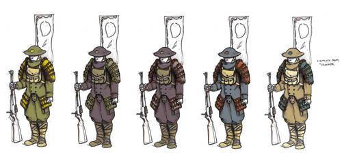 Namoto Rifle - Color variants by Lastwear
