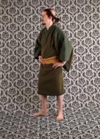 Fleese kimono by Lastwear