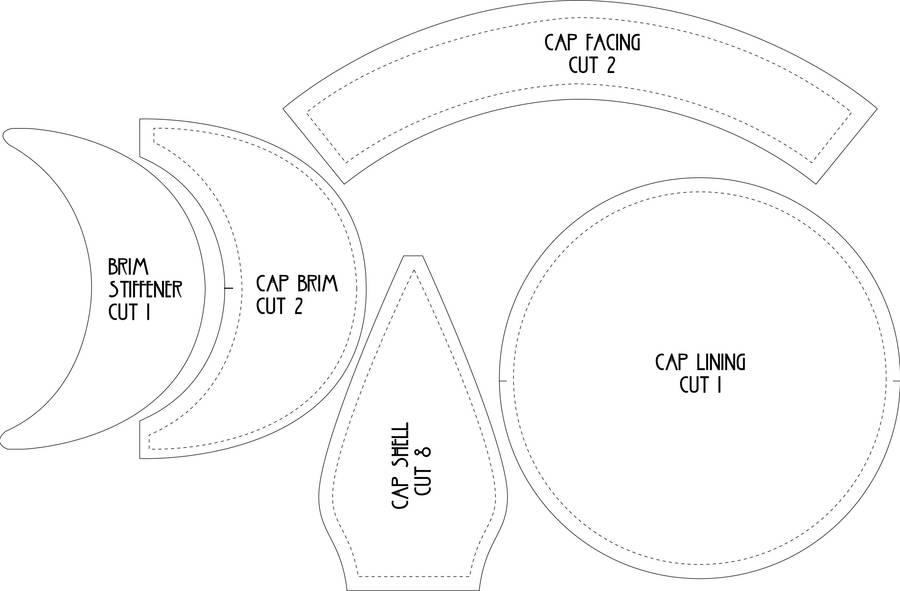 Flat Cap Pattern by Lastwear