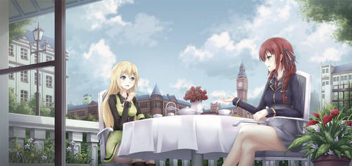 CM :: Tea Time by AsakuraShinji