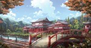 CM :: Castle Garden by AsakuraShinji